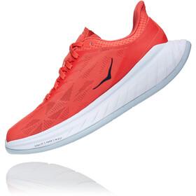 Hoka One One Carbon X 2 Shoes Women hot coral/black iris